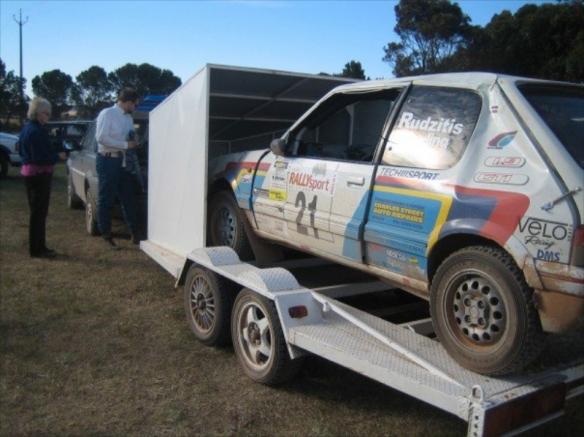 driven – david's peugeot 205 gti rally car | any given reason