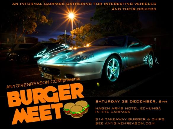 Burger Meet flyer